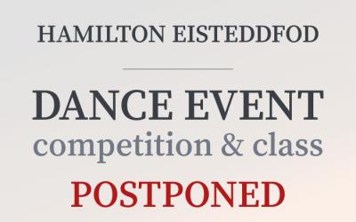 Dance Event Postponed