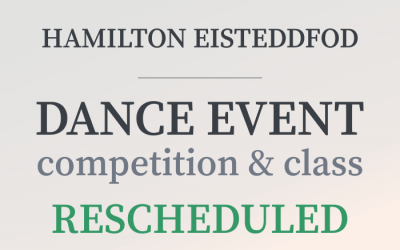 Dance Event Rescheduled: Information for Competitors