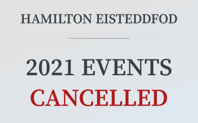 2021 Events Cancelled
